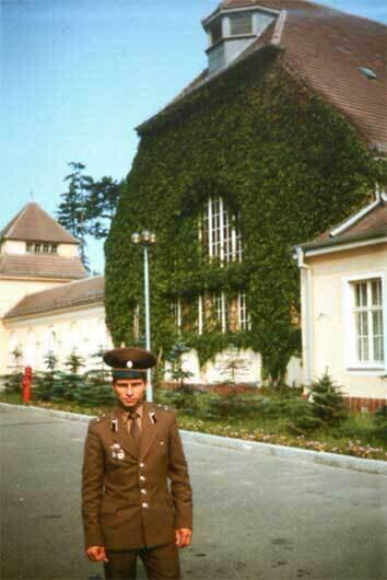 В группе советских войск в германии