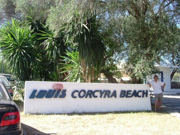 Отель Louis Corcyra Beach на Корфу